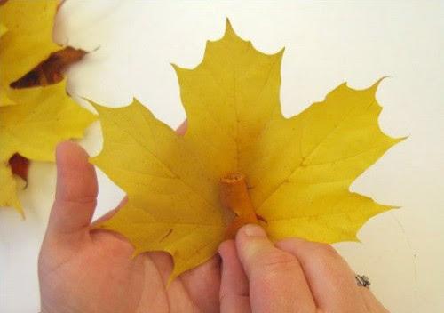 Autumn Leaf Bouquet