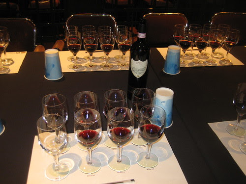 Wine tasting sheet