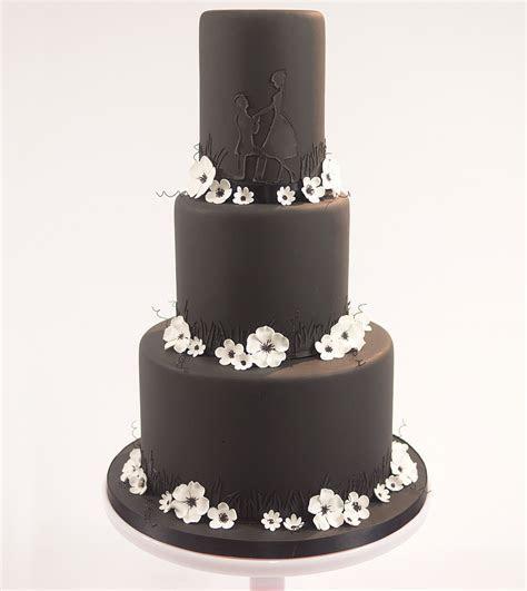 Black Noir Wedding Cake   Paul Bradford Sugarcraft School