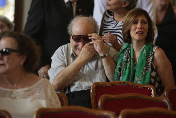 Beth Goulart e Antonio Abujamra (Foto: Leo Franco e Thiago Duran / AgNews)
