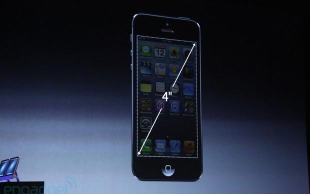 Tela de 4 polegadas confirmada no iPhone 5 (Foto: Reprodução/Engadget)