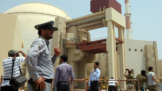 Iran's nuclear reactor in Bushehr (Photo: AFP)