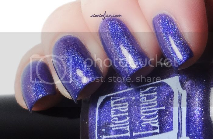 xoxoJen's swatch of Literary Lacquer - Mysterious Irrevocable Sacred