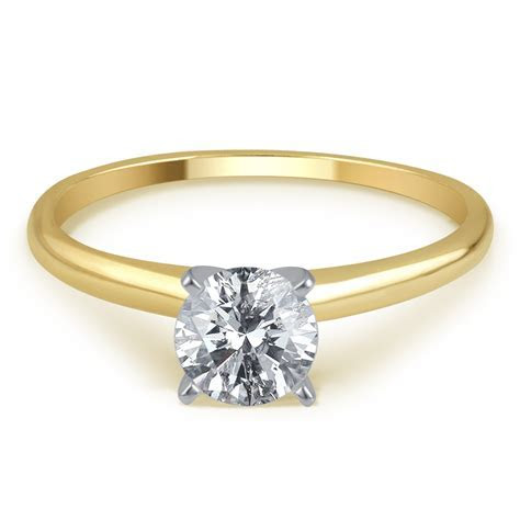 Tradition Diamond 3/4 Cttw. Certified Round Cut 14K Yellow