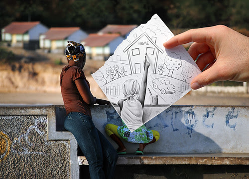 5620583894 c0e7f052ee in Incredibly Creative Pencil Drawings vs Photography