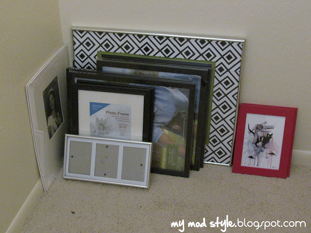 Pile of frames