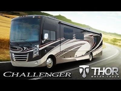 Thor Motor Coach videos: Challenger Luxury Gas Class A & Four Winds Class C  Motorhomes