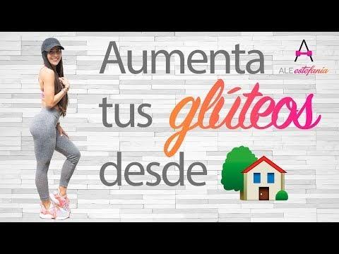 Rutina aumento de glúteos en casa