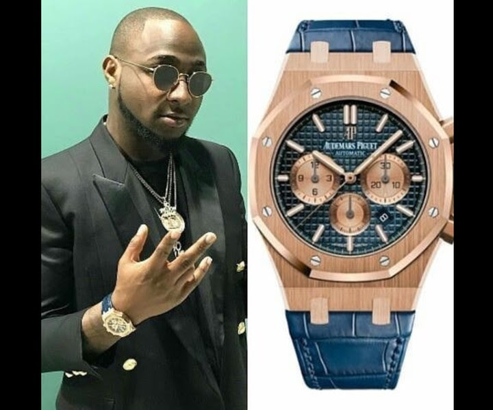 Davido Poses With His 13 Million Naira Timepiece [PICS]