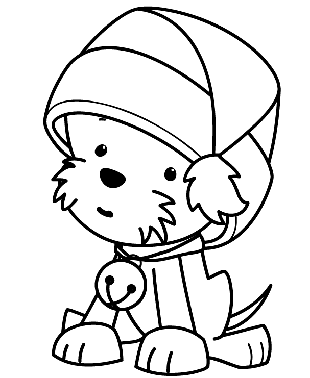 kids christmas coloring pages to print easy - Best ...
