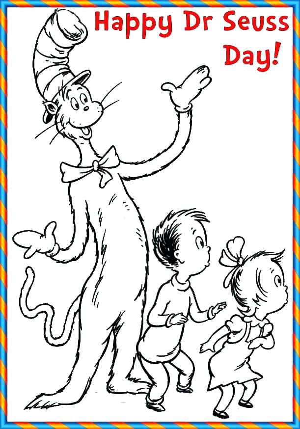 Dr Seuss Coloring Pages Pdf at GetColorings.com | Free ...
