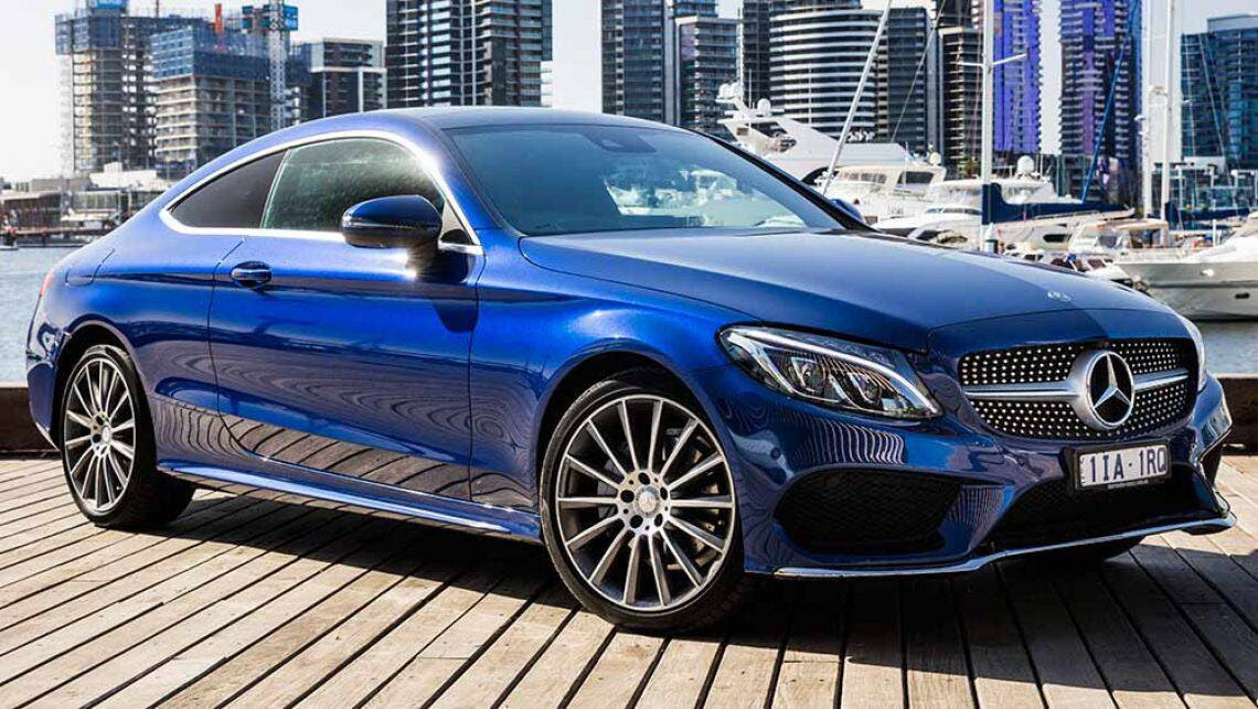 2016 Mercedes-Benz C-Class Coupe review   first Australian ...