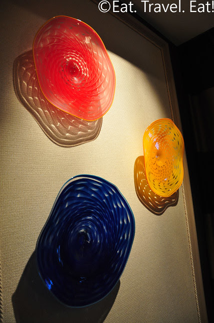 Chihuly Glass in Penthouse Suite