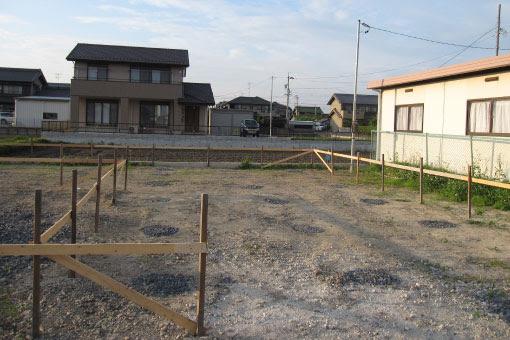 線路沿いの家5