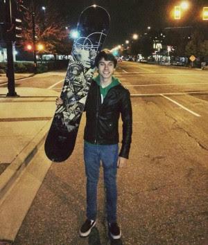 Luca estudante brasileiro morto no Canadá (Foto: Divulgação /Arquivo Pessoal)