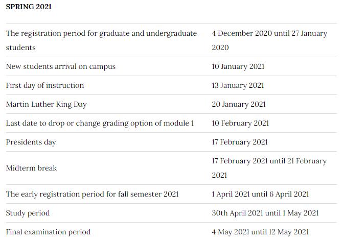 Brandeis Calendar Spring 2022.Academic Calendar Brandeis Academic Calendar 2021