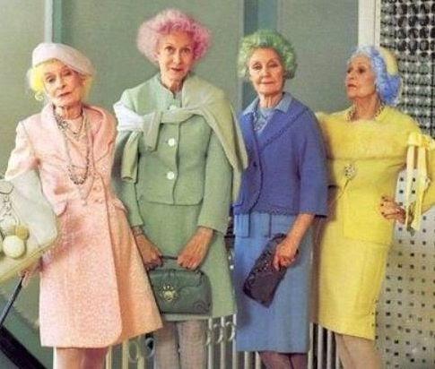 Old hello various ladies