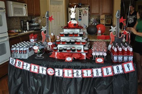 Rock Star Birthday Party Ideas   Photo 6 of 26   Catch My