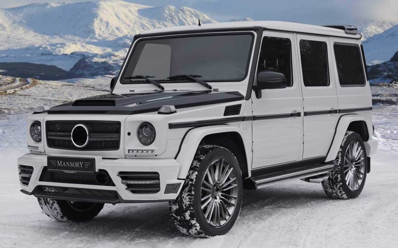 Mansory's Mercedes-Benz G-Class Mods are More Mild Than Wild