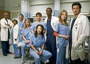 The cast of 'Grey's Anatomy'.