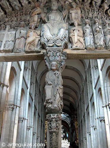 Portico de la Gloria de la Catedral de Santiago
