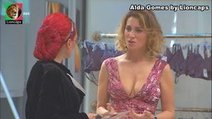 Alda Gomes sensual nas novelas Destinos Cruzados e A Prisioneira