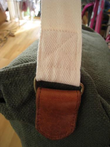 Pannier bag strap