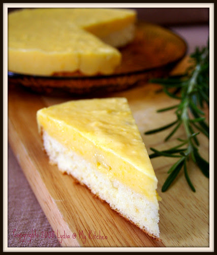 Durian Pudding Cake