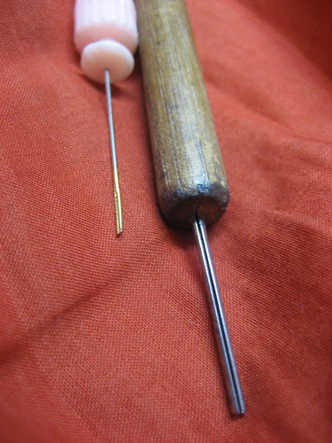Quilling tools - close