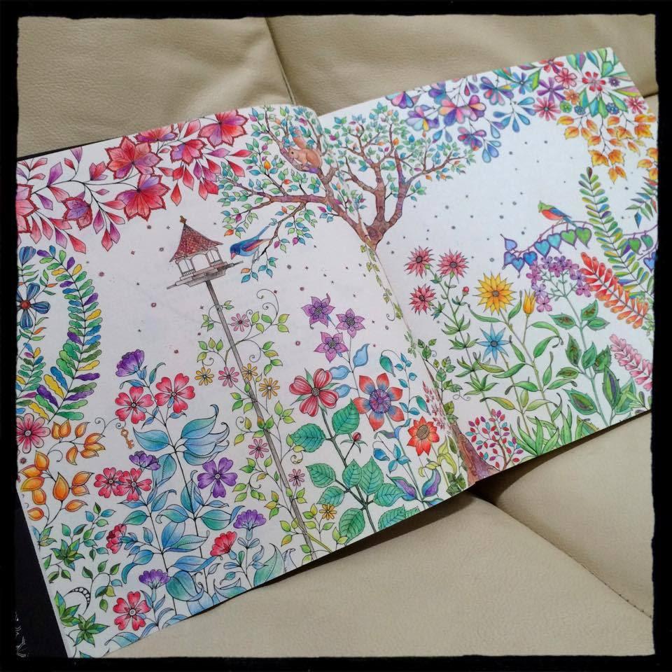 画像 フランス版大人の塗り絵コロリアージュ 素材と手本 Naver