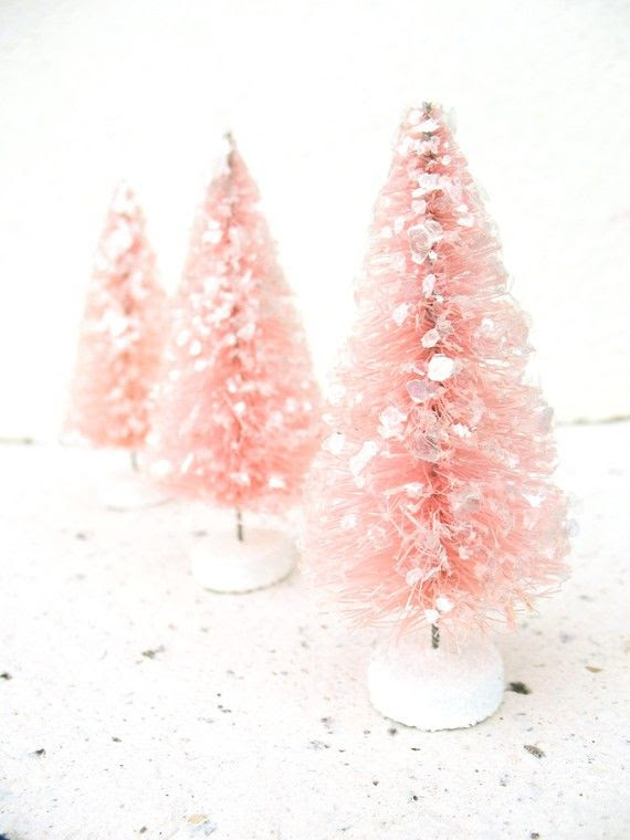 How pretty are these Christmas trees?!