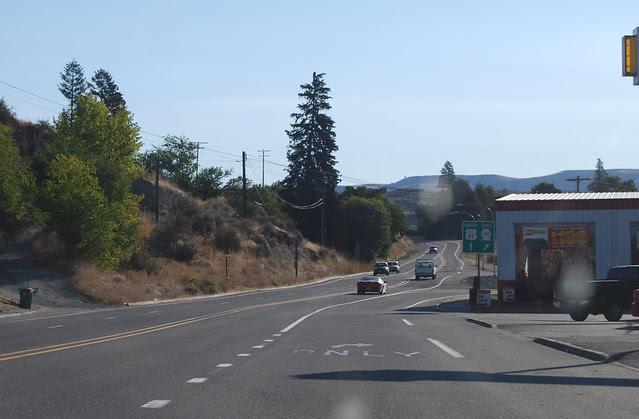 SR 150 @ US 97 Alt (northward)