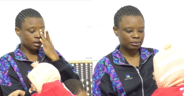 Kenyan woman  Who Went To Saudi In Search For A Greener Pasture Returns With 2 Kids