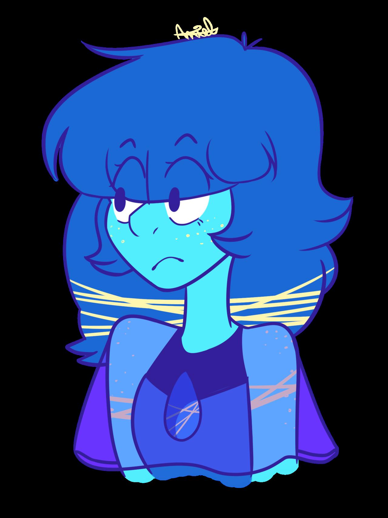 A Lapis Lazuli OC I doodled the other night.