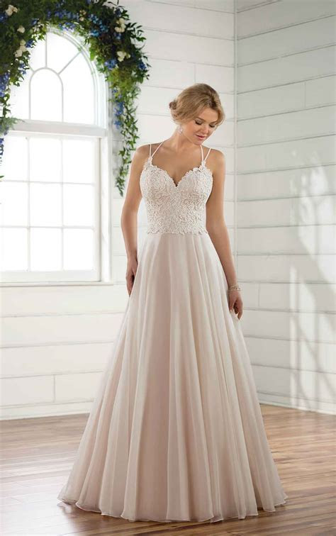 Soft Beach Wedding Gown   Essense of Australia Wedding Dresses