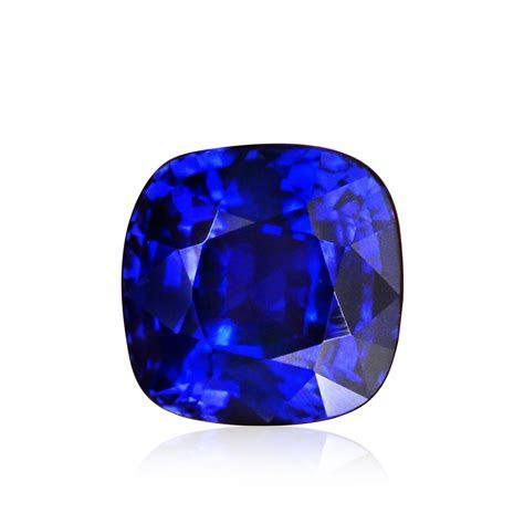 3.01 carat, Royal Blue, Sri Lankan Sapphire, Cushion Shape