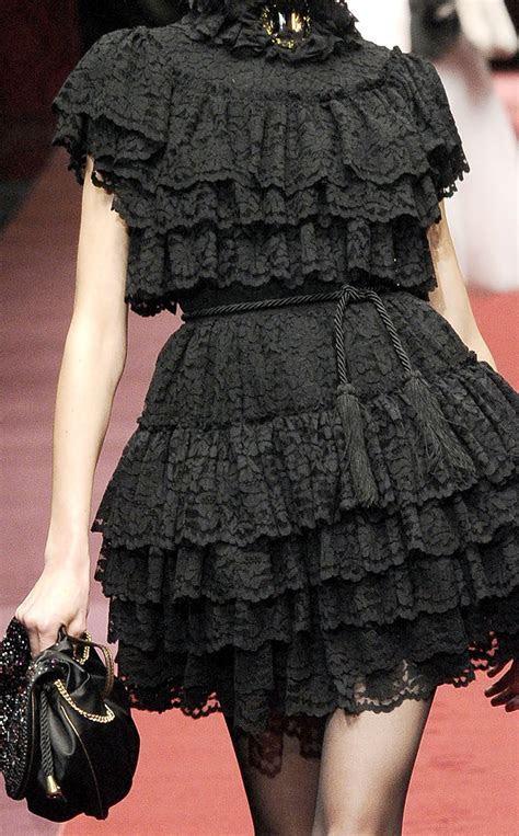 Black Ruffle Dress   Cocktail Dresses 2016