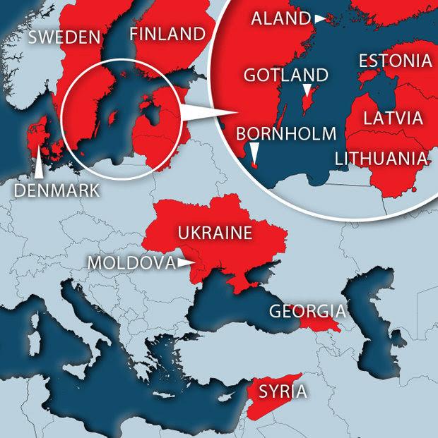 European war flashpoints