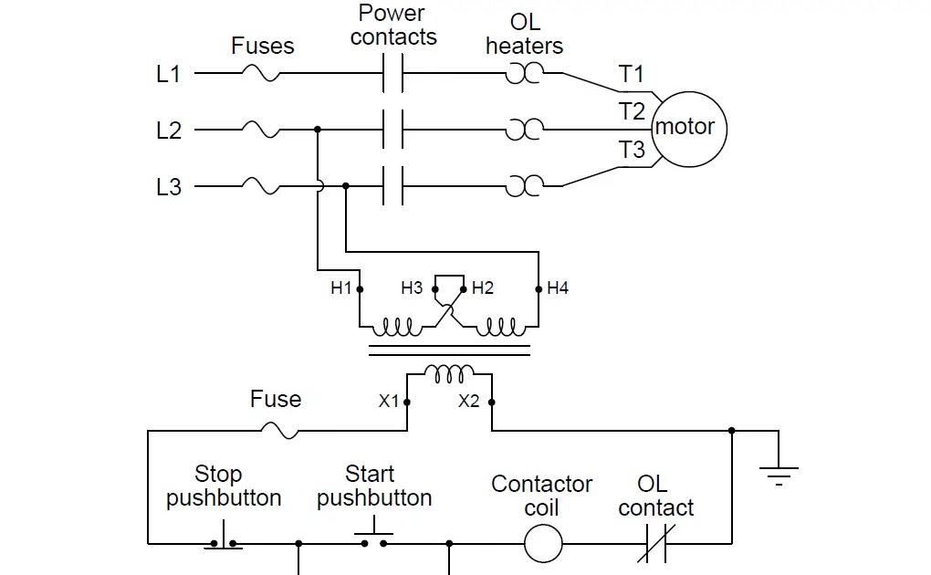 20 New Reversing Motor Starter Wiring Diagram