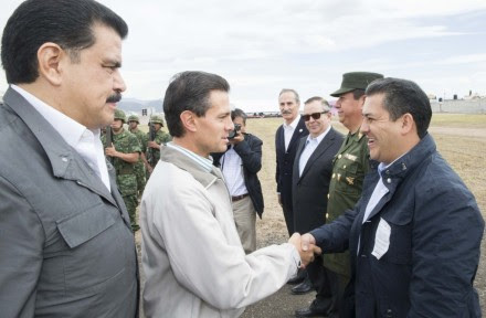 Peña de gira en Hidalgo. Foto: Presidencia