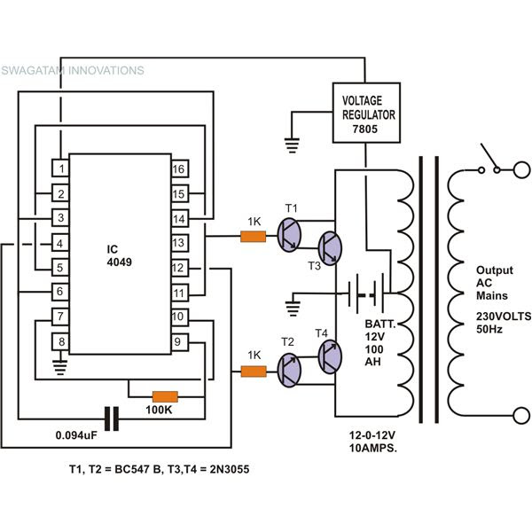I U0026 39 M Yahica  12vdc To 230vac Inverter Circuit Diagram Pdf