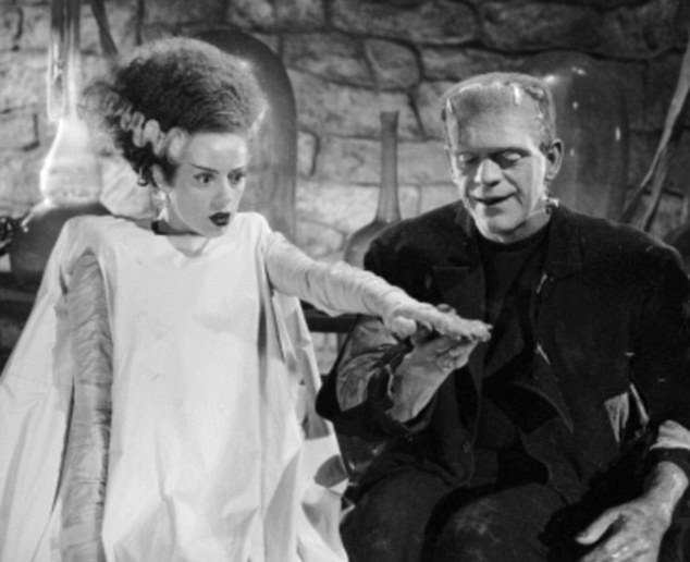 If Victor Frankenstein had also created a bride, mankind would have been fictionally wiped out by the competition from the pair within 4,000 years.Boris Karloff and Elsa Lanchester starred in the Universal picture, the Bride of Frankenstein in 1935