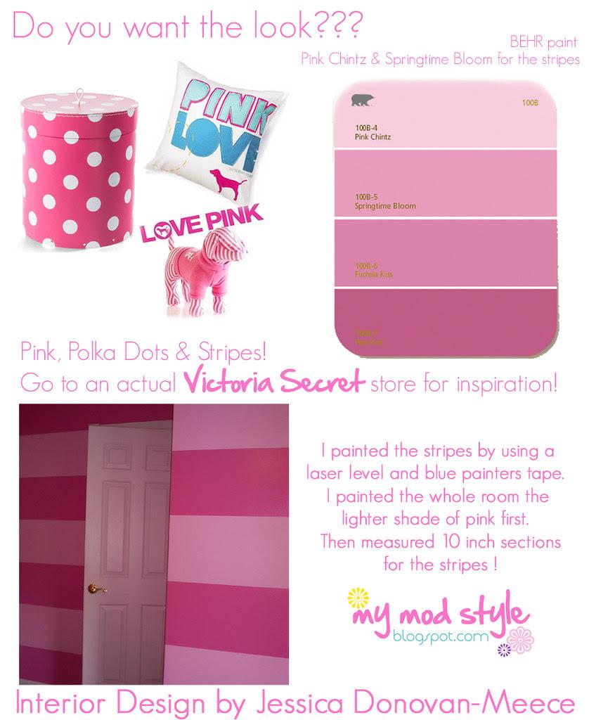 want the look victoria secret room