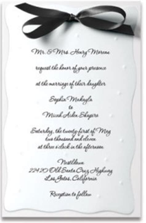 Wedding Invitation Wording for Complex Relationships