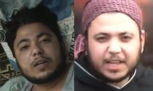 Abou Salah gravement blessé le 6 février 2012- le même dix jours après en colère contre le bombardement d'un oléoduc