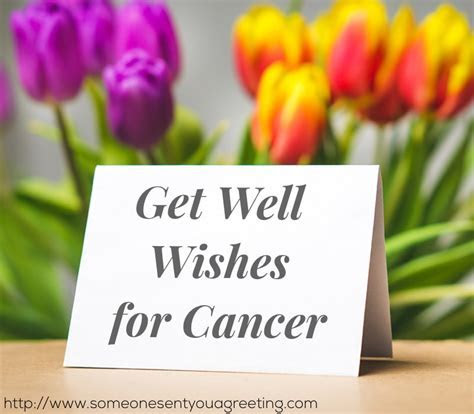 Get Well Wishes for Cancer: What to Say and What Not to