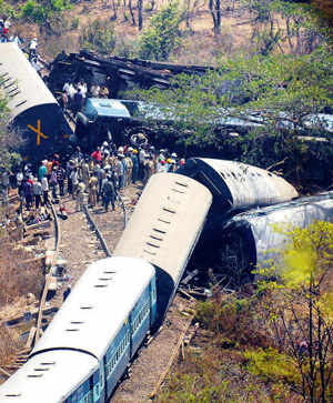 Welding failure behind spike in rail accidents