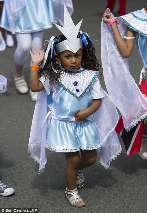 A child at the carnival