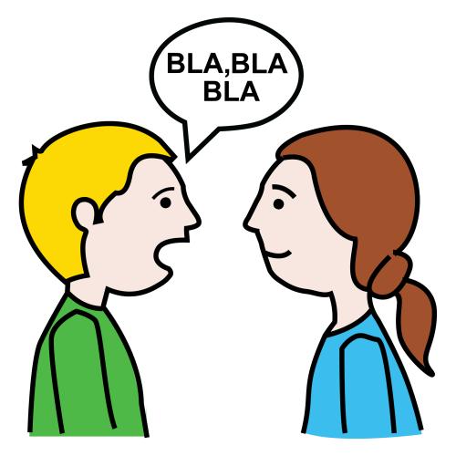 De Personas Dialogando En Dibujos Para Colorear Imagui
