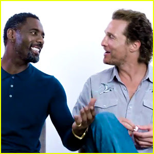 Idris Elba & Matthew McConaughey Answer Most Searched Questions About Themselves (Video)